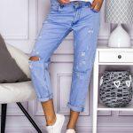 Tanie spodnie jeansowe