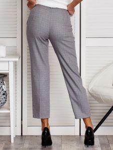 Spodnie damskie garniturowe