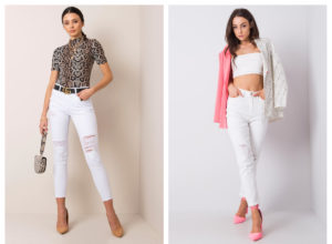 Białe spodnie jeansowe – czy warto je mieć?